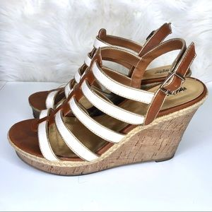 Mossimo Supply Co. Shoes - MOSSIMO | fashion wedge with straps
